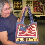 Very Cool Patriotic Bag made by Vera Carton.