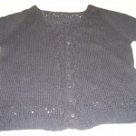 "Fabulous ""Miette Sweater"" knitted by Diane Prager with Rowan's Cashcotton DK!"