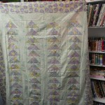 Tracey Kreiling found the perfect border fabric for her quilt....