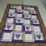 "Martha Marshall made these ""Bareroots"" Quilts and Labels.....  Three ""Love is...."" quilts......"