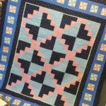 Barb Brown's version of Smoky Hill Quilt Club's Mystery Quilt....love the border you added, Barb!
