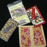Cecilia Morgan made up these great checkbook covers (pattern: Legacy Checkbook Cover)