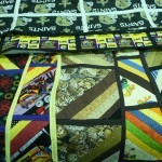 Look at all these great reversible quilts...by Irene Wyscaver of course!  Her family members received some pretty special gifts this year!