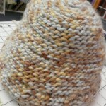 Grace Graff's first project was this crochet hat...she's off and crocheting now!
