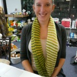 How fun is this wonderful cotton stripe cowl - knitted with Jo Sharp Cotton DK yarn - by the talented Rachael Tomasino