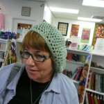 Wendy Carrato crocheted this fun hat with Cinnabar (Louisa Harding) - (2 balls)