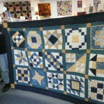 "Cindi Scott took Jane Dumler's Start Quilting Class and THIS IS HER FIRST QUILT!  It's a ""Celtic Birthday Quilt"" for her son, Andrew's 25th birthday.  Cindi said Jane's help and inspiration were invaluable....all fabric from WSpls...
