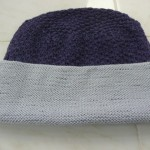 "Annette Harkness knitted this fabulous Lady Mary Flapper Hat with ""Sublime"" - a luxurious cashmere, silk and wool blend (we carry in MANY colors!).. It's terrific, Annette!"
