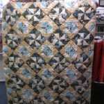 Denise Bachmann made this Asian themed mystery quilt with her Great American Quilt Group.  All of the Asian fabric came from Wooden Spools!  It's fantastic!