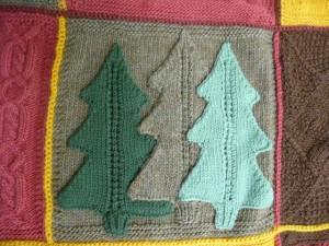 "December's Block ""Holiday Trees"""
