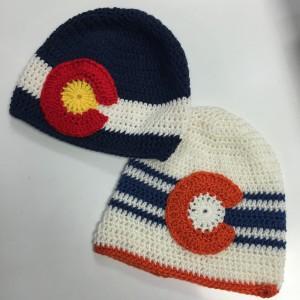 Crochet Colorado Flag