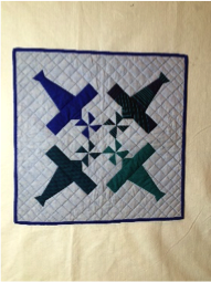 Airplane Mini Quilt