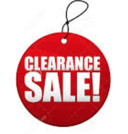 Year-End Clearance Sale Continues! New Items…Deeper Discounts!