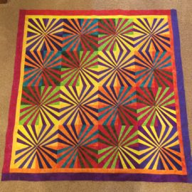 Color!  New Pattern for Fans.  Blog by Phyllis Stewart