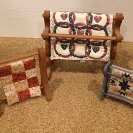 Miniature Quilt Racks – Blog by Phyllis Stewart