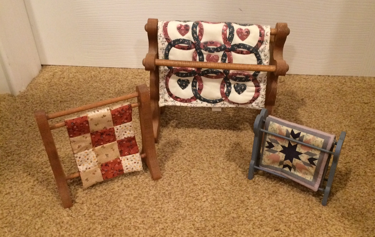 Miniature Quilt Racks Blog By Phyllis Wooden Spools Quilting Knitting More