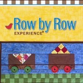 Row by Row 2017:  On the Go!