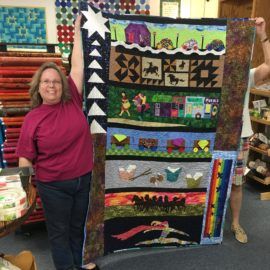 Row by Row Shop Winner is Liz K. of Englewood!!!