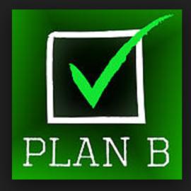 Letter P Sale: PLAN B!