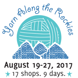 Yarn Along the Rockies: Aug 19th – 27th