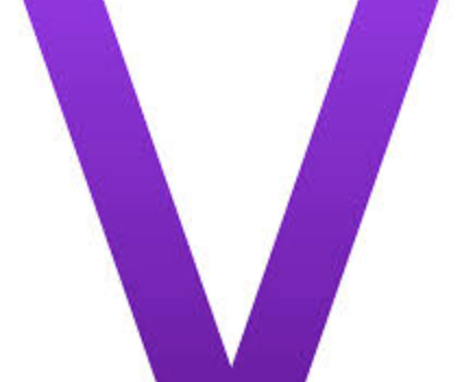 V is for VIOLET!  …. lots of news to read, too!