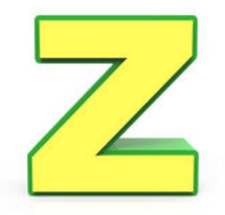 Letter Z Sale News!