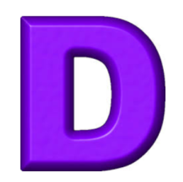 Letter D Sale Time!  Draw for a Discount….
