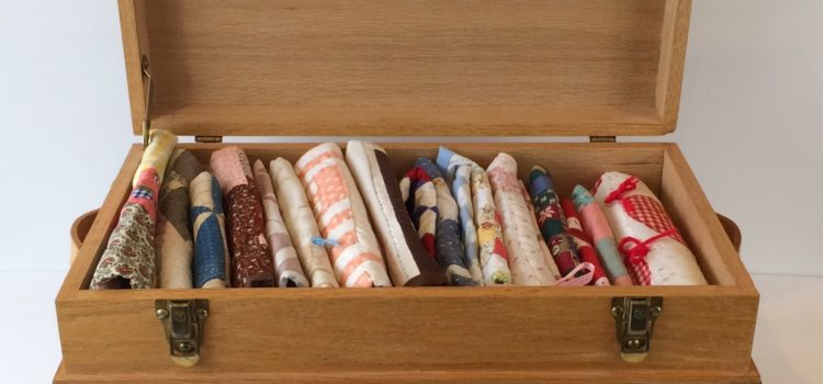 Miniature Trunk with Doll Quilts – Blog by Phyllis Stewart