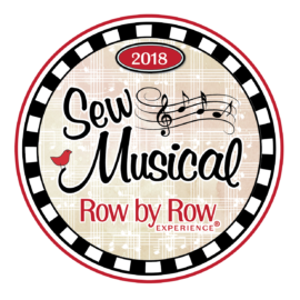 Row by Row 2018:  Sew Musical!