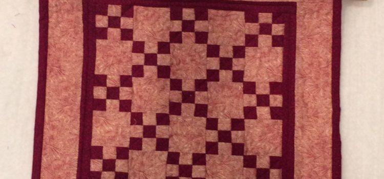 Irish Chain Mini Quilt – Blog by Phyllis Stewart