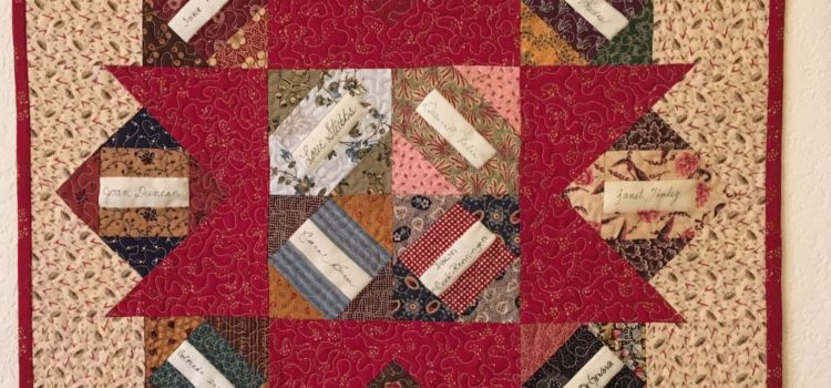 Friends' Signatures Quilts – Blog by Phyllis Stewart
