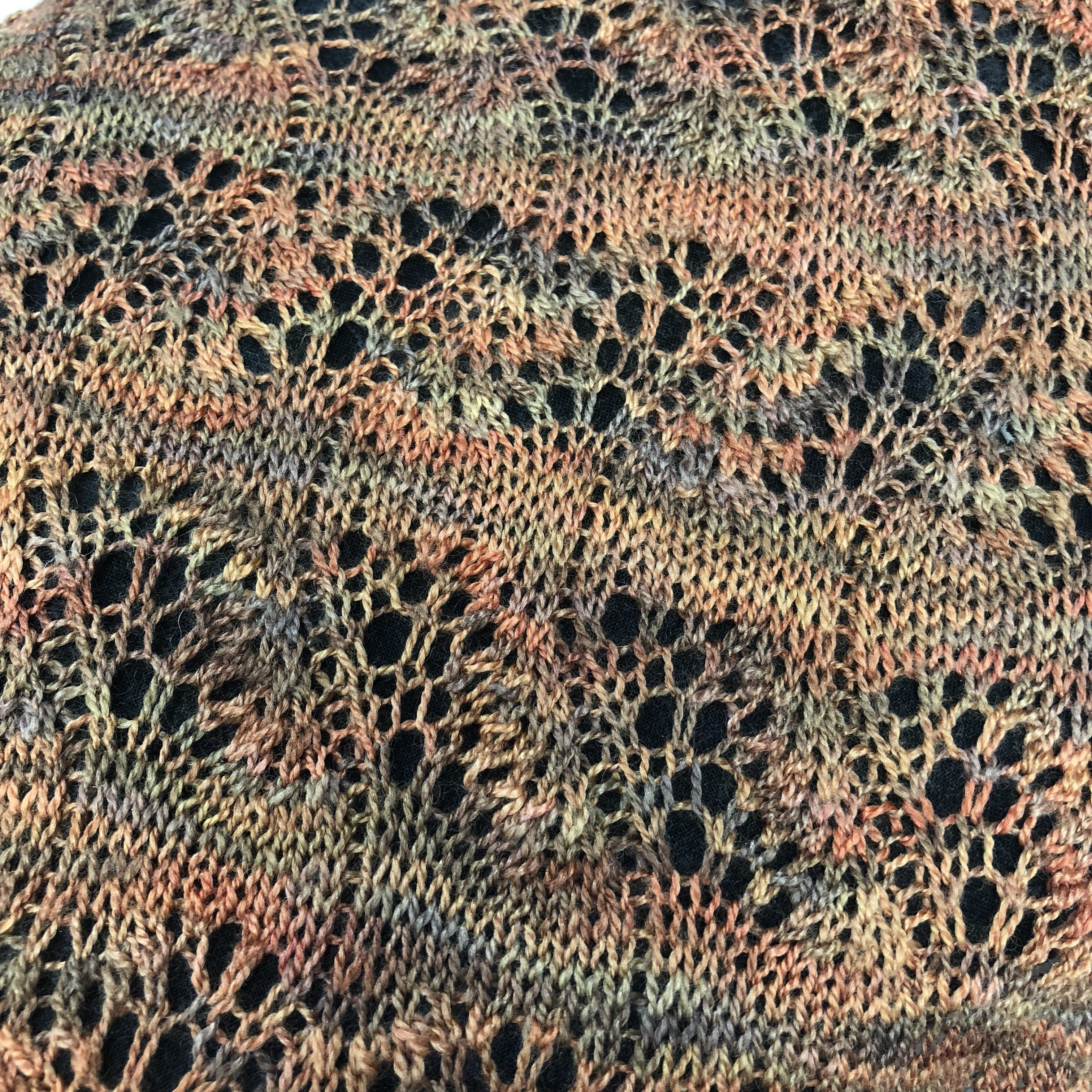 Japanese Waves Scarf: Beginning Lace Knitting with Jan Malone (2/3 ...
