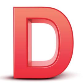 Letter D News! Sale starts 2/11