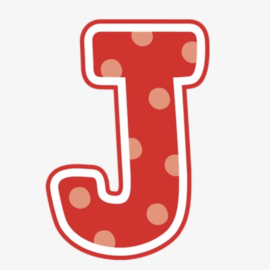 Letter J Sale Starts 5/6!