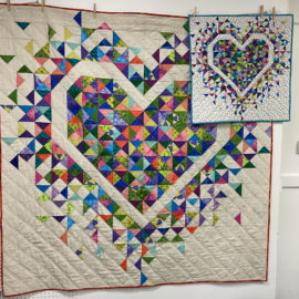 Exploding Heart Quilt-Along – Part 3