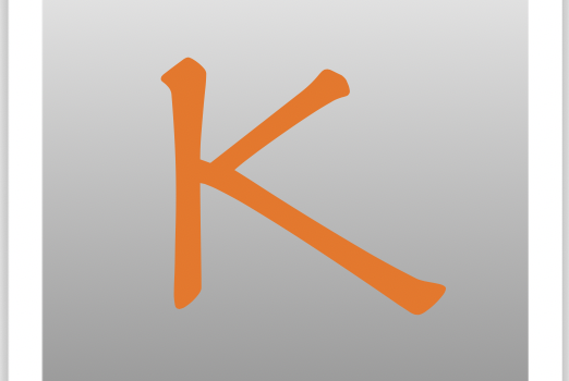It's Letter K Time in our ABC Sale!