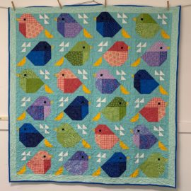 Sparrows Quilt Along – Step 3