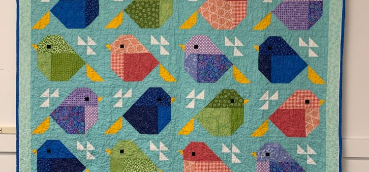 NEW QAL! Sparrows Quilt! Join us…