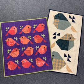 Sparrows Quilt QAL – Step 2