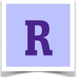 Letter R Sale! Thru 9/12