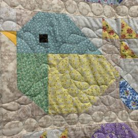 Sparrow Quilt Along – Final Step by Rachael
