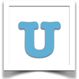 U is for THANK U! It's our 11th Anniversary!